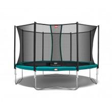 Батут Berg Favorit 430 см + сетка Comfort 430 см + лестница