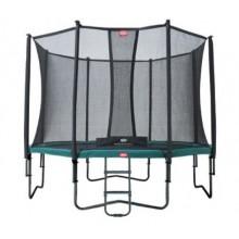Батут Berg Champion 430 см + сетка Comfort 430 см + лестница